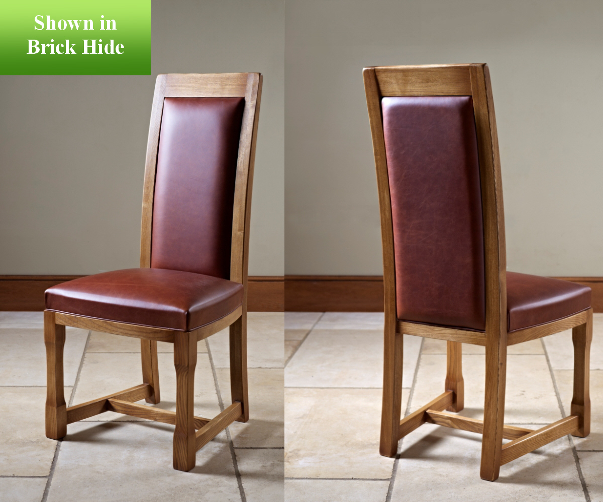 Old Charm Chatsworth 2899H Hide Dining Chair