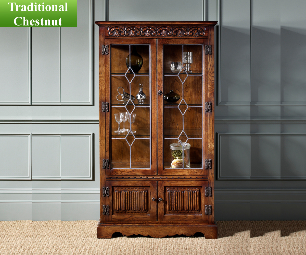 Old Charm Classic 2155 Display Cabinet