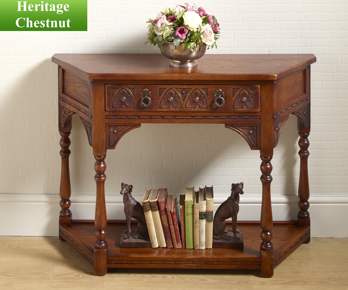Classic console tables - Old Charm Classic 2379 Canted Console Table