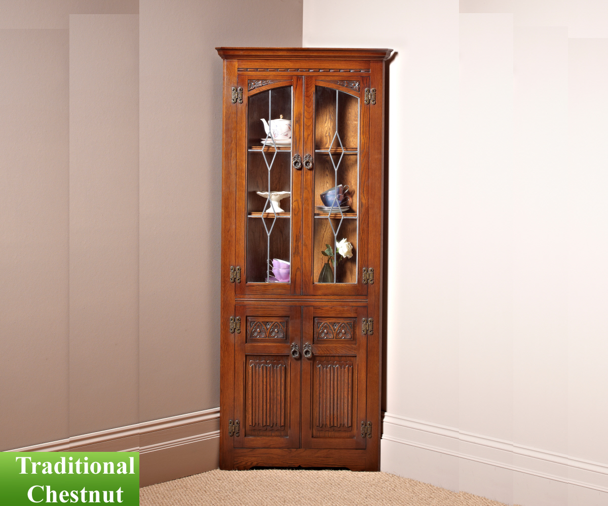 Old Charm Classic 2796 Corner Cabinet