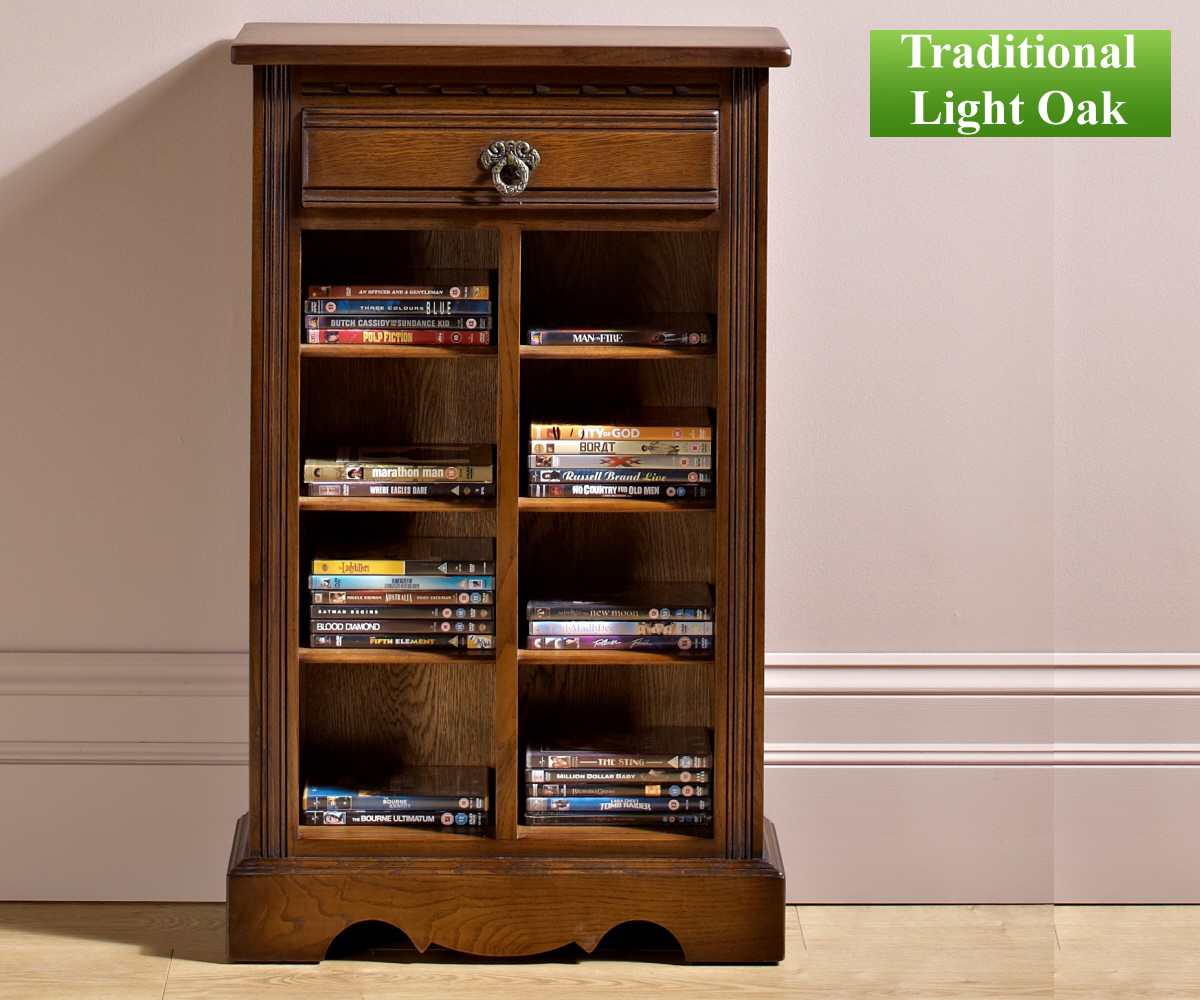 Old Charm Classic 2799 DVD/CD Storage Cabinet