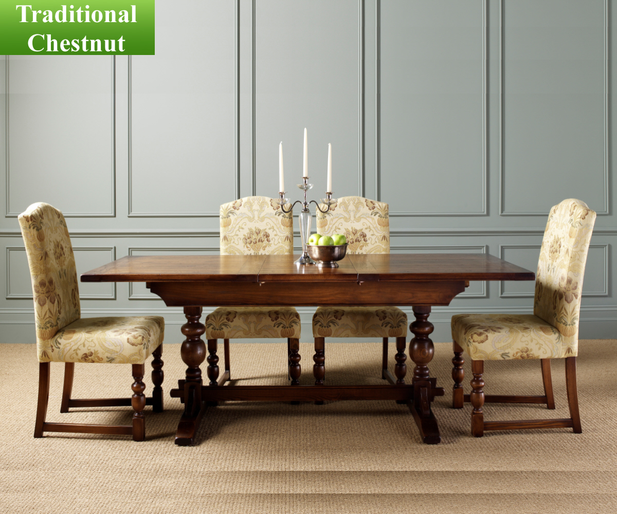 Old Charm Classic Lambourn Ft Extending Dining Table - At clearance prices hertford dining set by wood bros old charm