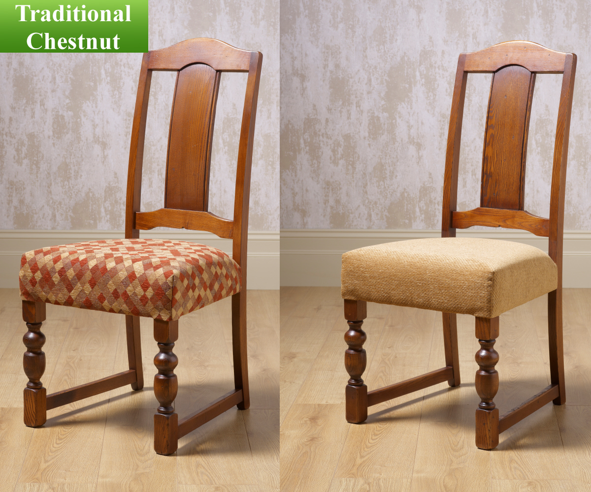 Smoke Linen Dining Chair