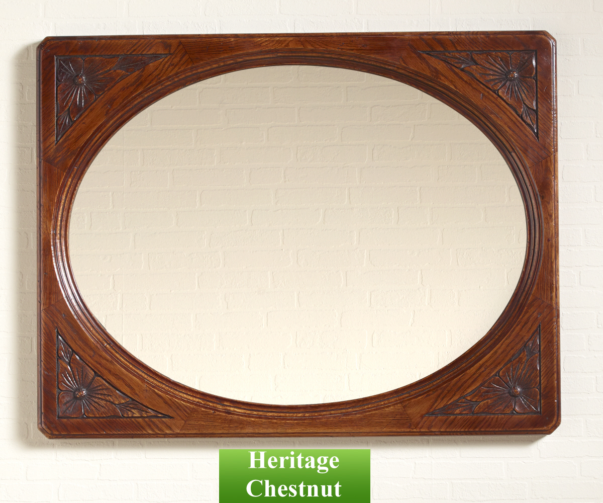 Old Charm Classic 2990 Oval Wall Mirror