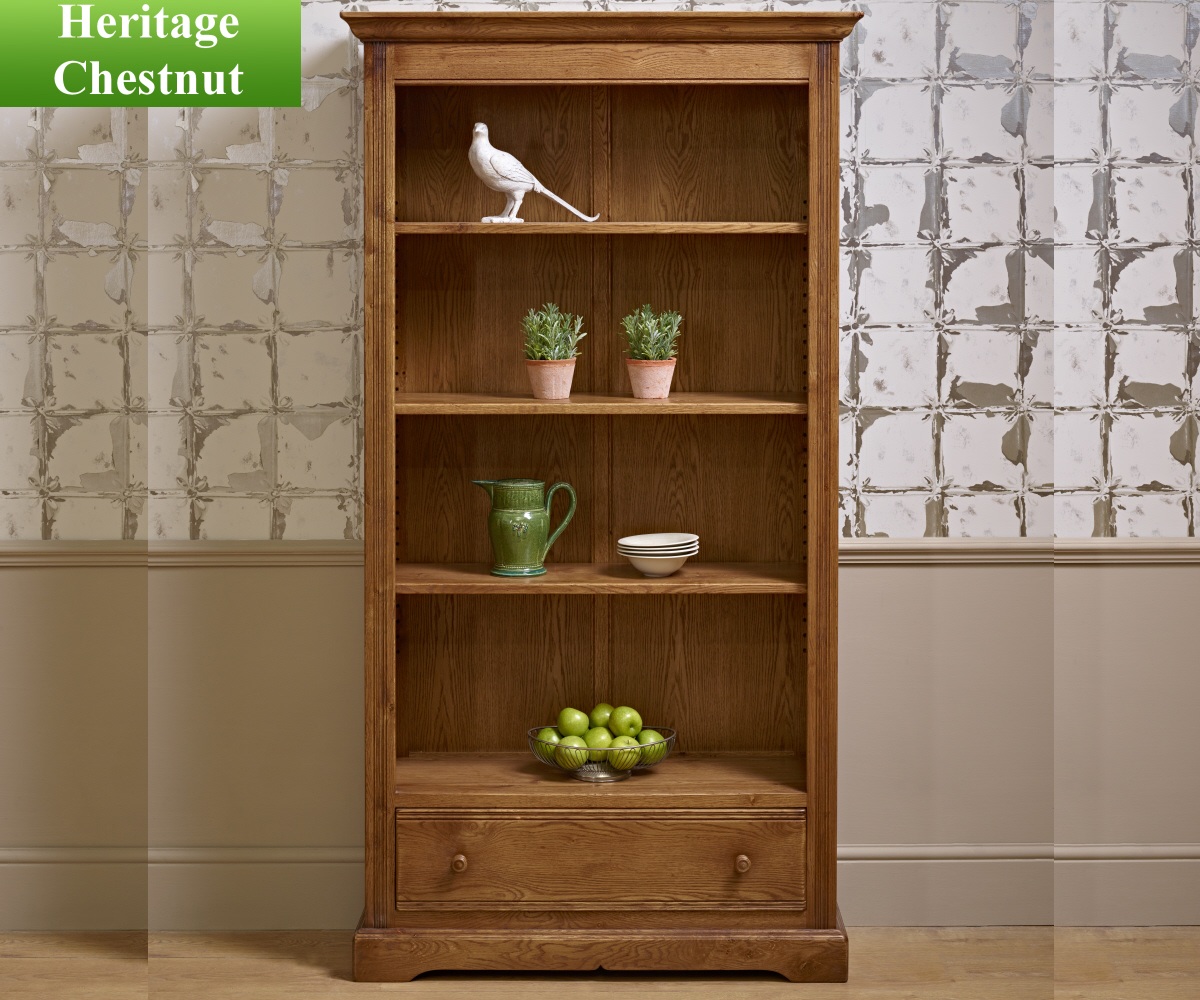 Old Charm Classic 2995 Bookcase with Drawer
