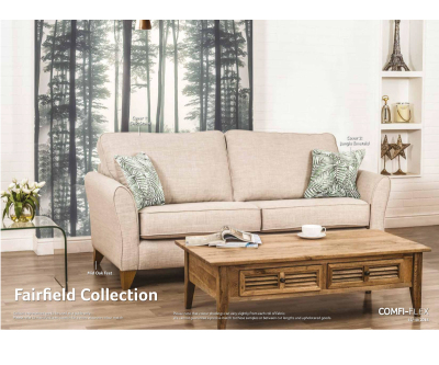 Buoyant Fairfield Plain 4 Seater Sofa