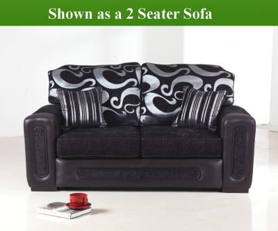 Red Rose Libby 3 Seater Sofa Bed