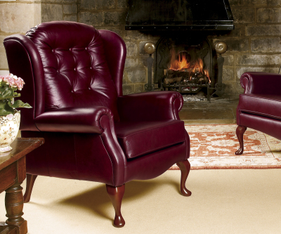 Sherborne Lynton Hide Fireside Chair