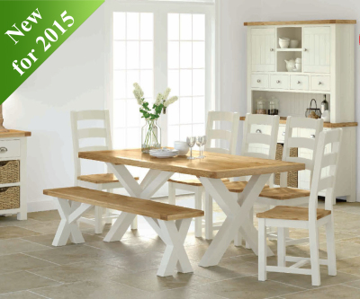 Intotal Sudbury Cross Dining Table