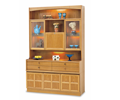 Nathan Classic Teak 4304 Cocktail Combination Unit