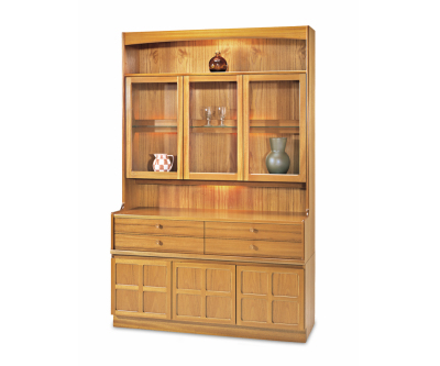 Nathan Classic Teak 4824 Display Combination Unit