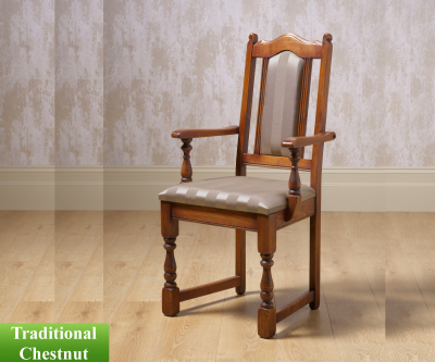 Old Charm Classic 2068 Lancaster Dining Carver Chair