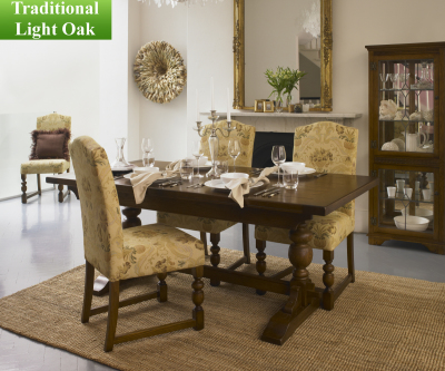 Old Charm Classic 2803 Lambourn 5ft Extending Dining Table