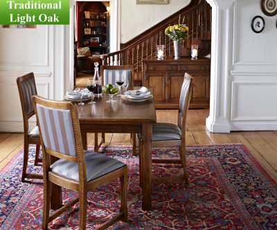 Old Charm Classic 2980 Priory Fabric Dining Chair